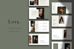 LORA - Powerpoint Template Product Image 1