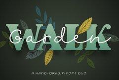 Garden Walk Font Duo Product Image 1