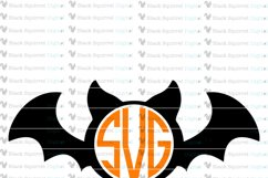 Halloween Monogram Frames SVG Bundle Product Image 3