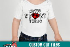 Little Heart Throb Valentine SVG Product Image 2