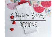 Valentines Flour Sac Towel Mockup Product Image 1