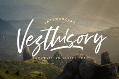 Vezthisory - Handwritten Font Product Image 1