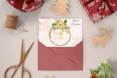 Watercolor Christmas arrangements. Winter cliparts Product Image 3