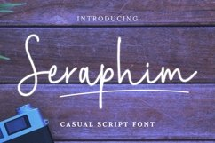 Web Font Seraphim Font Product Image 1