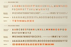 GR Milesons | Artdeco Typeface Product Image 5