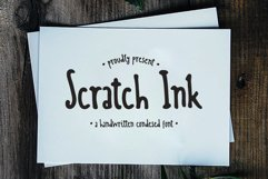 Scratch Ink - A Handwritten Condesed Font Product Image 1