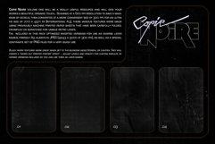 COPIE NOIRE Black Printed Paper Textures Product Image 3