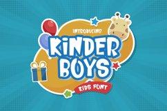 Kinder Boys - Playful Font Product Image 1