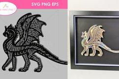 5 BEST SELLER 3D SVG Bundle Fairy, Bike, Dragon, Butterfly Product Image 5