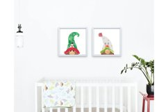 Christmas Clipart, Christmas Gnomes, Gnome Clipart Product Image 3