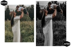 10 Charcoal Photoshop Actions And ACR Presets, black & white Product Image 2