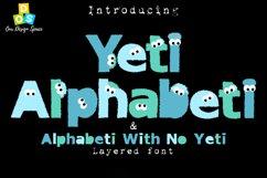 Yeti Alphabeti font Product Image 1