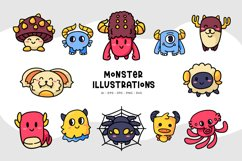 Monster Illustrations Product Image 1