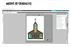 Church SVG / PNG / EPS / DXF files Product Image 6