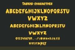 Web Font Tabloid - Fun Display Font Product Image 2
