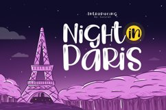 Night in Paris Product Image 1