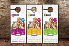 Pet Shop & Care Centre Door Hanger Product Image 2