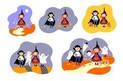 Halloween children in Halloween costume. Product Image 3