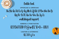 Boldie Blondie Font Duo Product Image 6