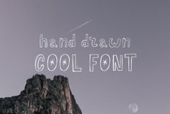 Hand drawn Cool Font Product Image 1
