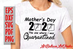 Mothers Day 2020 Svg Quarantined Mothers Day Svg Funny Svg Product Image 3