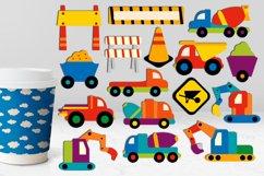 Transportation vehicles clip art graphics bundle Product Image 5