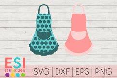 Baking SVG   Kitchen SVG  Apron Designs  SVG, DXF, EPS, PNG Product Image 1