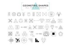 Vector Geometric Shapes & Art Logo Product Image 2
