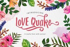Love Quake Font Product Image 1