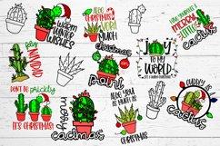 Cactus Christmas SVG Bundle Product Image 2