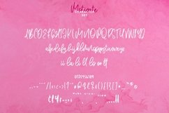 Web Font Motivate - Elegant Script Font Product Image 6