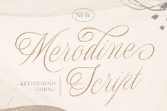 Merodine Script Product Image 1