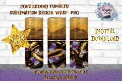 Coffee Bean|Sublimation Design|20oz Skinny Tumbler Wrap Product Image 1