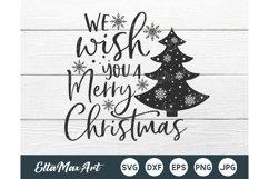 We wish you a Merry Christmas Svg, Christmas Svg, Christmas Product Image 1