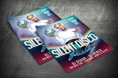 SILENT DISCO PARTY FLYER|Summer Festival Flyer | Template Product Image 2