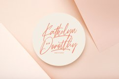 Rattih Putri - Handwritten Font Product Image 4