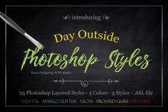 Day Outside - Layered Photoshop Styles Product Image 1