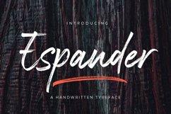 Espander - Handwritten Typeface Product Image 1