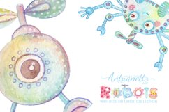 Watercolor Robots Party Product Image 5