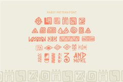 Rabsy African pattern font Product Image 5