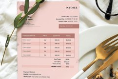 Event Styling Invoice template, 4 Styles Canva Template Product Image 2