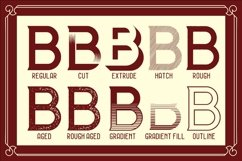 Web Font The BIGMAN Font Collection Product Image 2