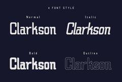 Claretta Font Family Product Image 4