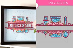 42 Split Family Monogram SVG Mega Bundle Layered Monogram Cu Product Image 2
