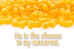 Macaroni handwritten font Product Image 3