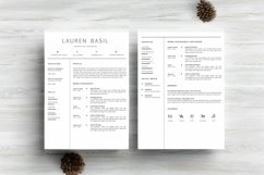 MS WORD Creative Resume Template CV Design Product Image 2