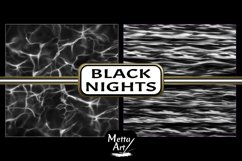 Black Nights - 10 Digital Papers/Backgrounds Product Image 2