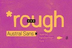 Austral Sans Rough Product Image 1