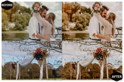 10 Moody Wedding Photoshop Actions And ACR Presets, fall Ps Product Image 4