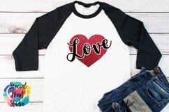 Love SVG - Valentine Heart Product Image 1